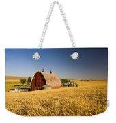 Sunset Barn And Wheat Field Steptoe Weekender Tote Bag