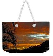 Sunset Behind The Palms Weekender Tote Bag