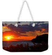 Sunset By The Beach Weekender Tote Bag