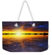 Sunset By The River Weekender Tote Bag by Svetlana Sewell