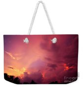 Sunset Color Weekender Tote Bag