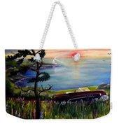 Sunset Cruisin' Weekender Tote Bag