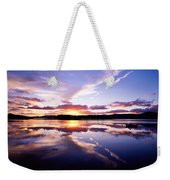 Sunset, Dinish Island Kenmare Bay Weekender Tote Bag
