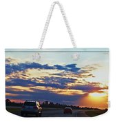 Sunset Drive Weekender Tote Bag