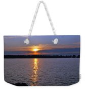 Sunset Egg Harbor Weekender Tote Bag
