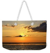 Sunset Flight Weekender Tote Bag