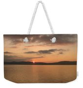 Sunset From The Train Weekender Tote Bag