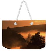 Sunset, Glendalough Glendalough, Co Weekender Tote Bag