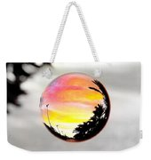 Sunset In A Bubble Weekender Tote Bag