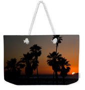 sunset in Califiornia Weekender Tote Bag by Ralf Kaiser