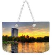 Sunset In Hermann Park Weekender Tote Bag