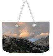 Sunset In Jasper Weekender Tote Bag