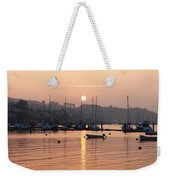 Sunset In The Harbor Crosshaven County Weekender Tote Bag