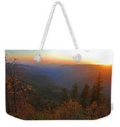 Sunset In Yosemite Weekender Tote Bag