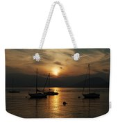 Sunset Lake Maggiore Weekender Tote Bag