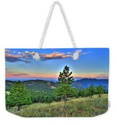 Sunset Mountain Weekender Tote Bag