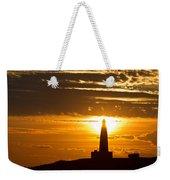 Sunset Obelisk Weekender Tote Bag