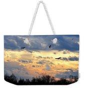 Sunset Of The Hawks Weekender Tote Bag