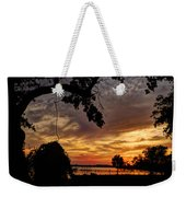Sunset On Biloxi Bay Weekender Tote Bag
