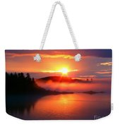 Sunset On Campobello Island  Weekender Tote Bag