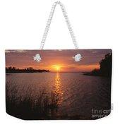 Sunset On Eagle Harbor Weekender Tote Bag