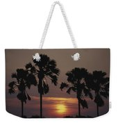 Sunset On Shire River Weekender Tote Bag