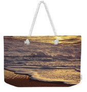 Sunset On Small Wave Weekender Tote Bag