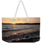 Sunset On The Bay Of Fundy Weekender Tote Bag