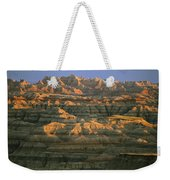 Sunset On The Geological Formations Weekender Tote Bag