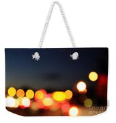 Sunset On The Golden Gate Bridge Weekender Tote Bag by Linda Woods