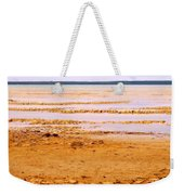 Sunset On The Mud Flats Weekender Tote Bag