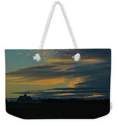Sunset On The Old Canadian Highway Weekender Tote Bag