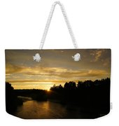 Sunset On The Rogue River Weekender Tote Bag