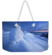 Sunset On The Summit Toviktinden Weekender Tote Bag by Arild Heitmann
