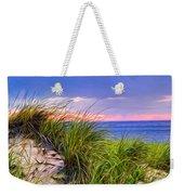 Sunset On Wellfleet Dunes Weekender Tote Bag