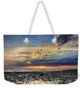 Sunset Over Bound Brook Island Weekender Tote Bag
