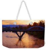 Sunset Over Caveman Bridge Weekender Tote Bag