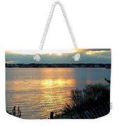 Sunset Over Cedar Creek Weekender Tote Bag