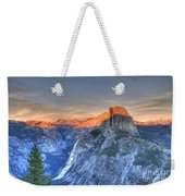 Sunset Over Half Dome Weekender Tote Bag