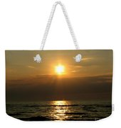 Sunset Over Lake Erie 3 Weekender Tote Bag