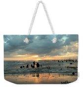 Sunset Over Lake Pontchartrain Weekender Tote Bag