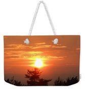 Sunset Over Maine Weekender Tote Bag