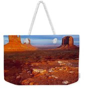 Sunset Over Monument Valley Weekender Tote Bag