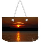 Sunset Over Silver Lake Sand Dunes Weekender Tote Bag