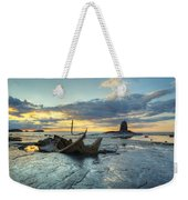 Sunset Over The Admiral Weekender Tote Bag