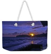 Sunset Over The Adriatic Weekender Tote Bag