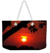 Sunset Over The Golf Course Weekender Tote Bag
