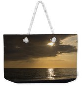 Sunset Over The Gulf - Peeking Through The Clouds Weekender Tote Bag
