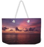 Sunset Over The Gulf Of Mexico Weekender Tote Bag