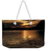 Sunset Over The Lake - 3rd Place Win Weekender Tote Bag